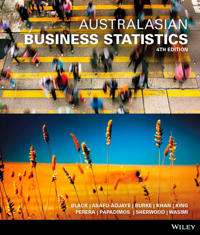 Australasian Business Statistics, 3rd Edition