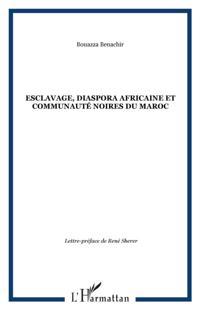 Esclavage diaspora africaine et communau