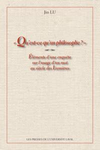 Qu'est-ce qu'un philosophe?