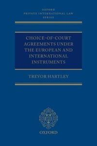 Choice-of-Court Agreements Under the European and International Instruments