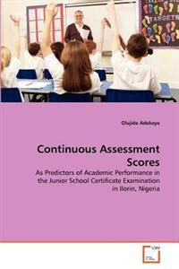 Continuous Assessment Scores