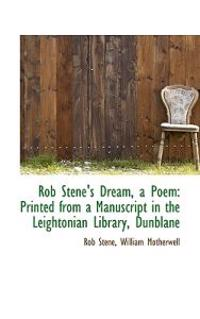 Rob Stene's Dream, a Poem