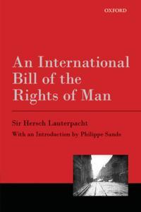 International Bill of the Rights of Man