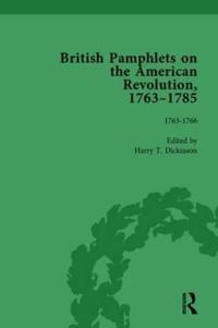 British Pamphlets on the American Revolution, 1763-1785