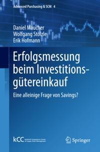 Erfolgsmessung beim Investitionsgutereinkauf