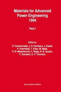 Materials for Advanced Power Engineering 1994