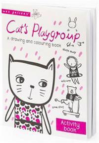 Cats playgroup - a drawing and colouring book