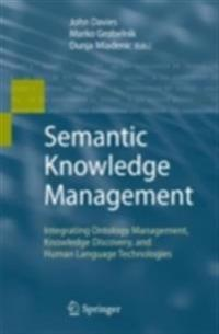 Semantic Knowledge Management