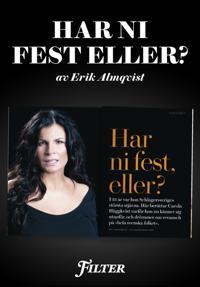Har ni fest eller? - Ett reportage om Carola Häggkvist ur magasinet Filter