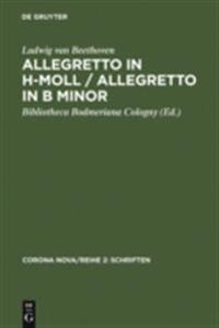 Allegretto in h-Moll / Allegretto in B minor / Ludwig van Beethoven. Allegretto in B minor