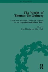 The Works of Thomas De Qunincy