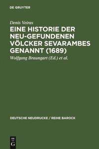 Eine Historie der Neu-gefundenen Volcker Sevarambes genannt (1689)