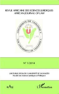 Revue Africaine des Sciences Juridiques RASJ