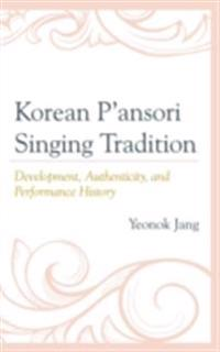 Korean P'ansori Singing Tradition