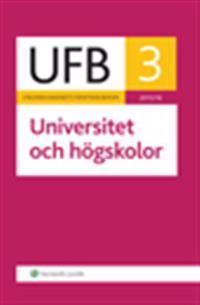 UFB 3 Universitet och högskolor 2015/16