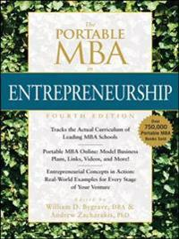 Portable MBA in Entrepreneurship