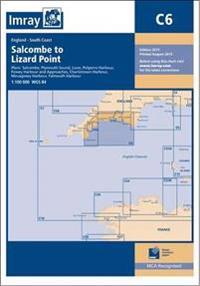 Imray chart c6 - salcombe to lizard point
