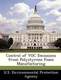 Control of Voc Emissions from Polystyrene Foam Manufacturing