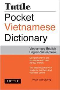 Tuttle Pocket Vietnamese Dictionary: Vietnamese-English English-Vietnamese