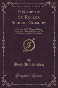 History of St. Rollox School, Glasgow