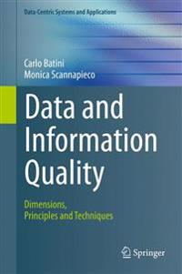 Data and Information Quality