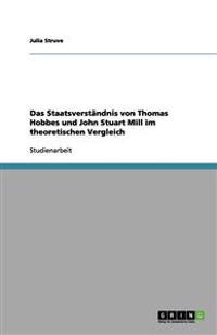 Das Staatsverständnis von Thomas Hobbes und John Stuart Mill im theoretischen Vergleich
