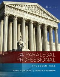 Paralegal Professional: The Essentials, the