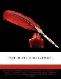L'Art de Vrifier Les Dates...
