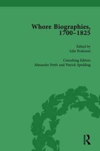 Whore Biographies, 1700-1825