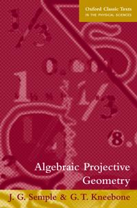 Algebraic Projective Geometry