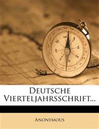 Deutsche Vierteljahrsschrift...