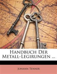 Handbuch Der Metall-Legirungen.