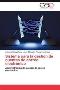 Sistema Para La Gestion de Cuentas de Correo Electronico