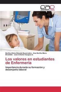 Los Valores En Estudiantes de Enfermeria