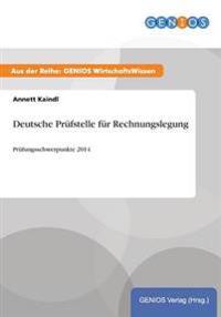 Deutsche Prufstelle Fur Rechnungslegung