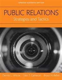 Public Relations: Strategies and Tactics, Books a la Carte