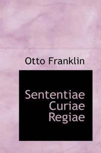 Sententiae Curiae Regiae