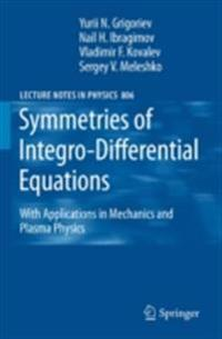 Symmetries of Integro-Differential Equations