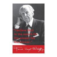 Frank Lloyd Wright Portrait Magnet