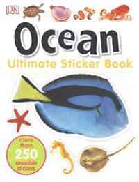 Ultimate Sticker Book  Ocean  More Than 250 Reusable Stickers - DK - böcker (9781465448828)     Bokhandel
