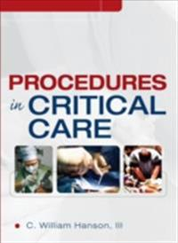 Procedures in Critical Care