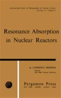Resonance Absorption in Nuclear Reactors