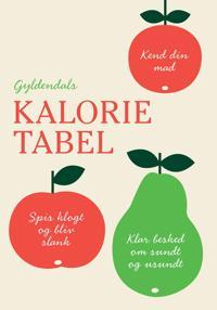 Gyldendals kalorietabel