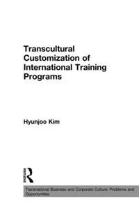 Transcultural Customization of International Training Programs