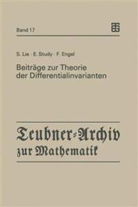 Beiträge Zur Theorie Der Differentialinvarianten