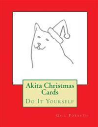 Akita Christmas Cards: Do It Yourself
