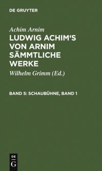 Schaubuhne, Band  1