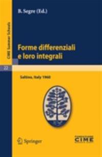Forme differenziali e loro integrali