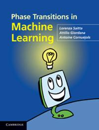 Phase Transitions in Machine Learning