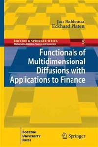 Functionals of Multidimensional Diffusions with Applications to Finance
